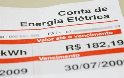 ICMS não pode ser cobrado sobre tarifas de energia elétrica.